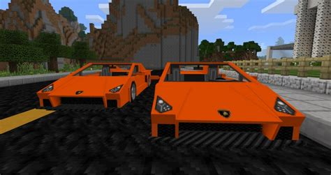 minecraft sports car sports car mod for minecraft pe 1 0 5