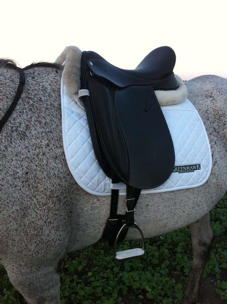 Most Comfortable Dressage Saddle by Dearmount Dressage Saddle W Outside Blocks Germida
