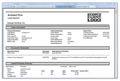 Commercial Lease Abstract Template Excel Qualads Free Commercial Lease Abstract Template