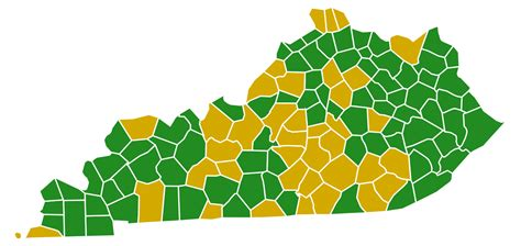 kentucky electoral map file kentucky democratic presidential primary election