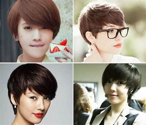 Which faces are suitable for tomboy hairstyle?