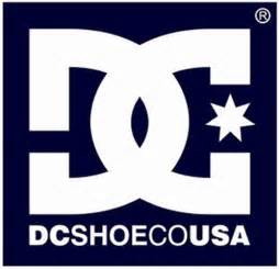 Dc shoe co usa skateboard shoes logo
