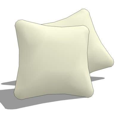 Throw Cushions 3D Model FormFonts 3D Models & Textures