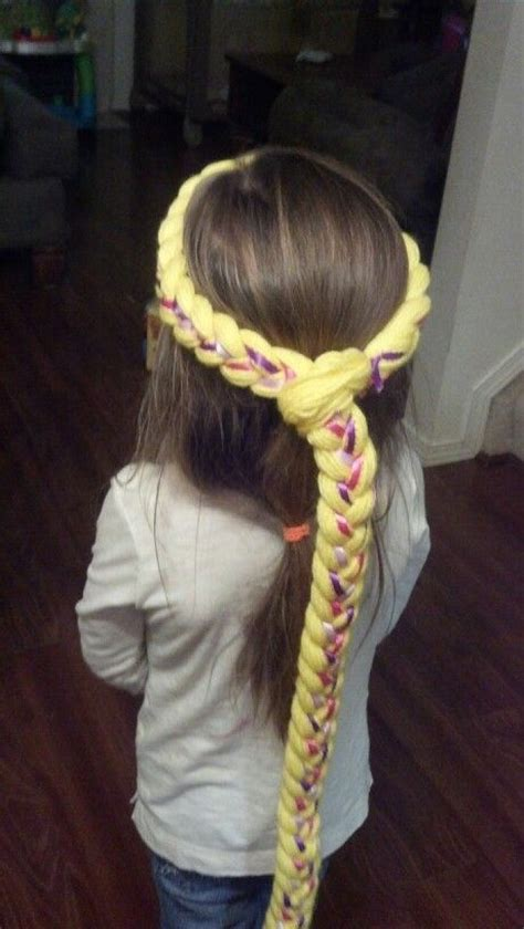 Braid Craft - rapunzel braid craft ideas for