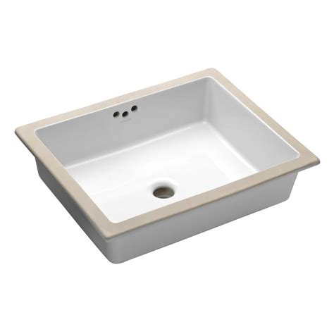 kohler kitchen sink drain kohler kathryn vitreous china undermount bathroom sink in
