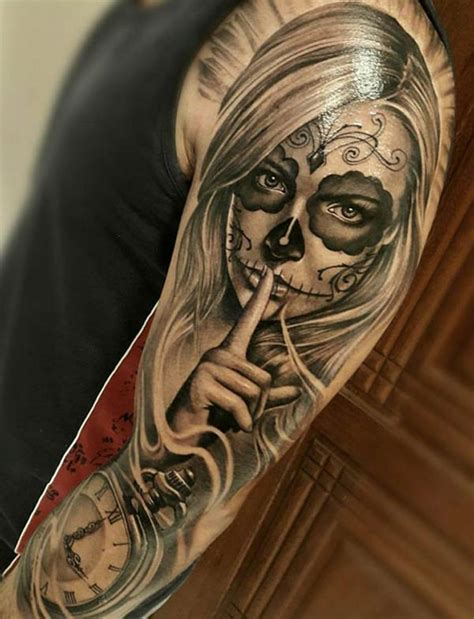 day of the dead woman tattoo designs tattoos design ideas 34 best day of the dead