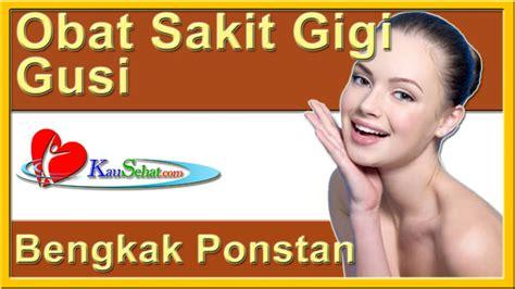 Obat Ponstan obat sakit gigi gusi bengkak ponstan perawatan kesehatan tubuh wanita indonesia