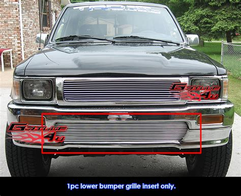 92 toyota truck for 92 95 toyota truck 4wd billet bumper grille ebay