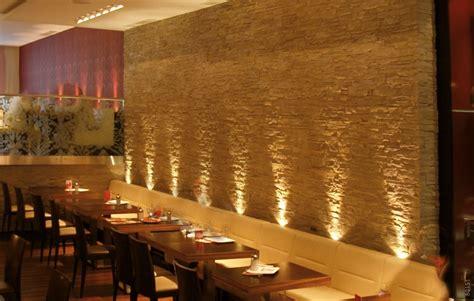 beleuchtung restaurant gastronomie restaurant wandgestaltung mit beleuchtung lascas mit