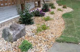 stone patio ideas river