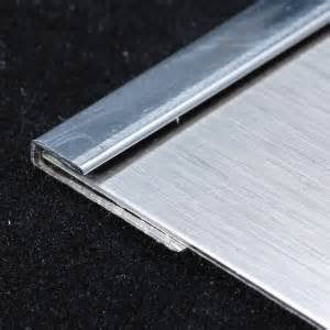 stainless steel j trim moldings starland metals