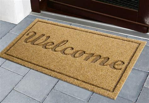 Welcome Door Mat Forde George News