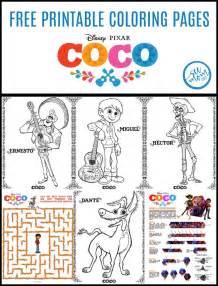 disney pixar coco coloring pages trailer mom