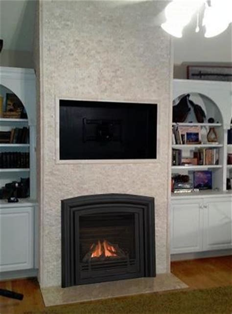 Facing For Fireplace by Gas Fireplace Makeover With Tiny Facing