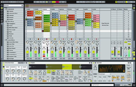 Ableton Live Manual French Marmek Instruments Controller Editor Templates
