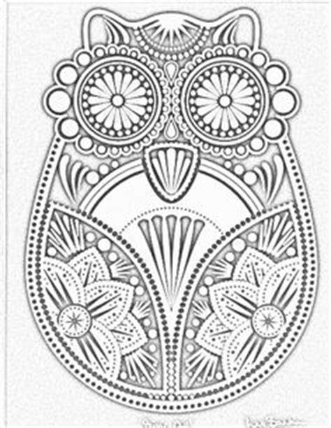intricate owl coloring pages mandalas by blank88 on pinterest mandala coloring pages