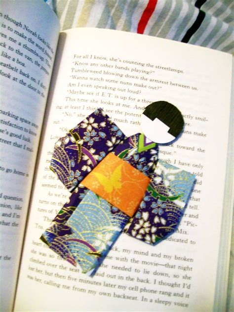 Origami Bookmark Tutorial - 1000 images about japanese paper dolls on