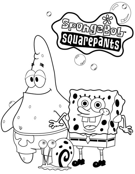coloring pages with spongebob squarepants coloring pages for kids spongebob squarepants coloring
