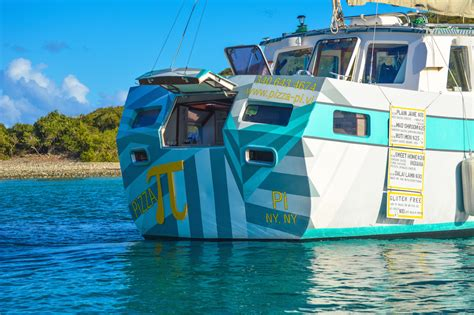 pizza boat the caribbean s first pizza boat