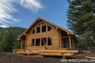 utah log cabin builders and kits packages uinta log and