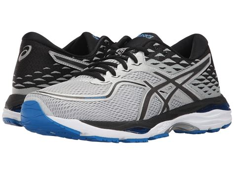 Asics Gel Cumulus 19 Grey Black Silver asics s casual fashion shoes and sneakers