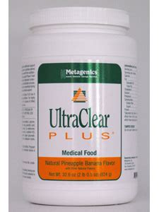 Ultraclear Detox by Ultraclear Plus Pin Ban 32 6 Oz By Metagenics