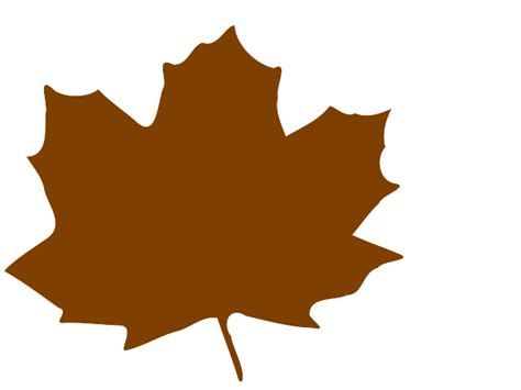 brown clip brown leaves clip cliparts