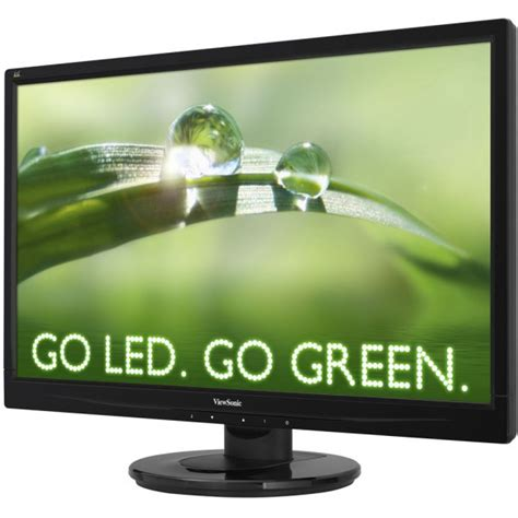 Viewsonic Monitor Va2046a 195 Wide viewsonic va2046m led 19 5 wide color tft monitor