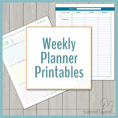 Weekly Calendar Planner Weekly Planner Printables Personal Planner