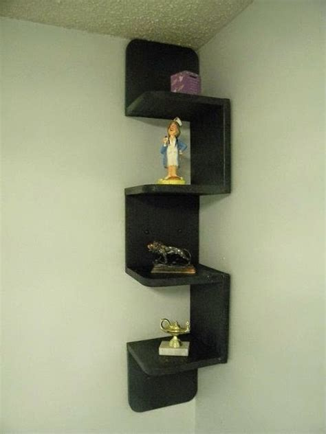 Black Corner Shelf Unit by Great Suggestions For Corner Shelving Units 20 Ideas