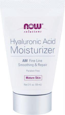 now hyaluronic acid moisturizer