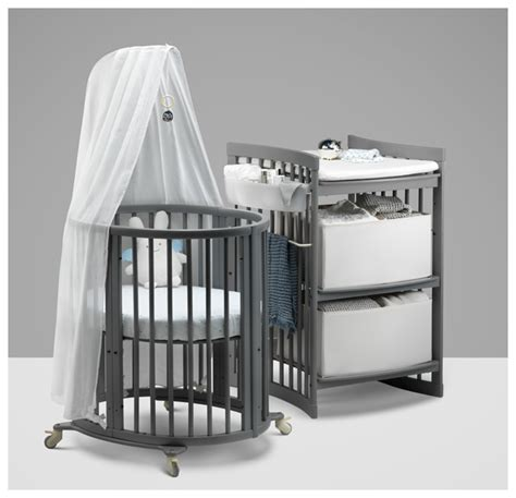 Mini Crib With Changing Table Strollers High Chairs Baby Carrier Nursery Car Seat Xplory Tripp Trapp Sleepi Stokke