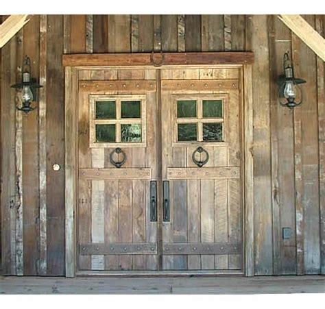story creek wood exterior doors - Front Door Stories