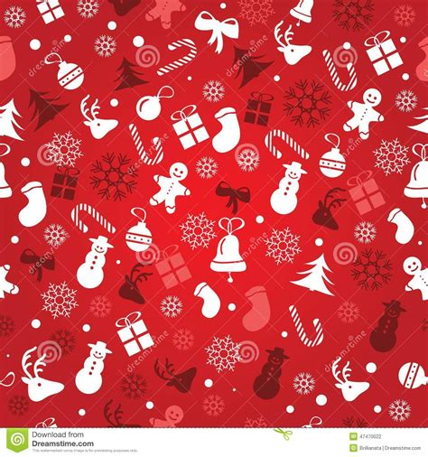 wrapping paper pattern vector christmas background seamless tiling great choice for