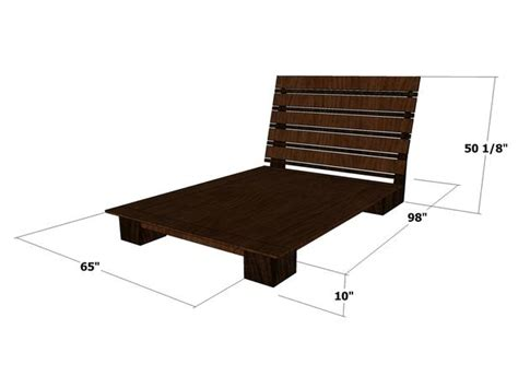 how to build a bed frame and headboard how to build a platform bed frame with headboard quick