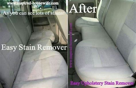 Stain Remover For Upholstery by Easy Car Upholstery Stain Remover Recipe Soaps White