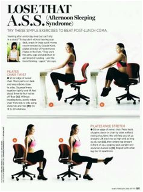 Ab Workout While Sitting At Desk by 1000 Images About Office Workout On Office