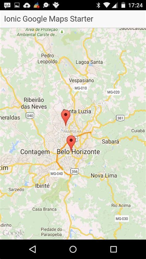 ionic tutorial google maps google maps ionic marketplace