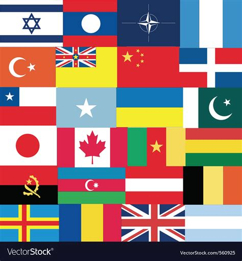 1000 images about flags of the world on world flags royalty free vector image vectorstock