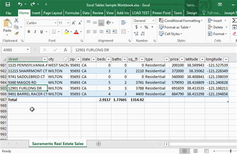Spreadsheets Made Easy by Excel Tables Spreadsheets Made Easy