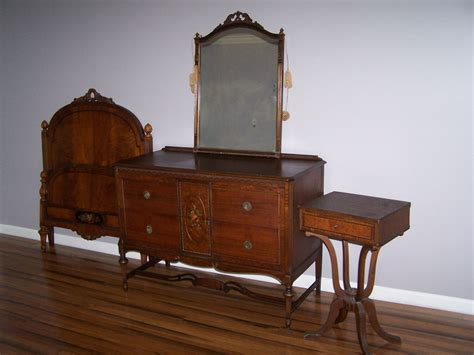 Vintage Bedroom Furniture Sets | paine furniture antique bedroom set ebay
