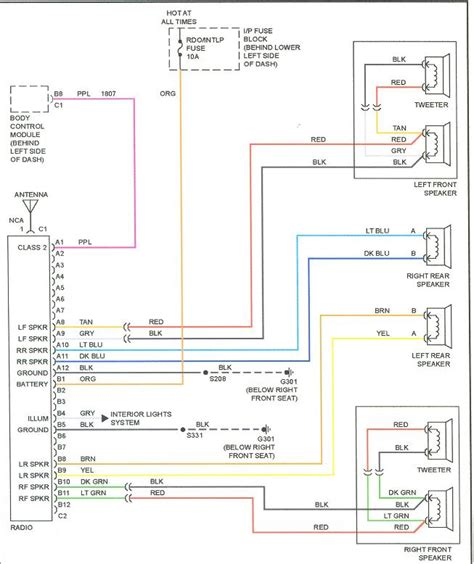 2 best images of gm radio wiring harness diagram 2002