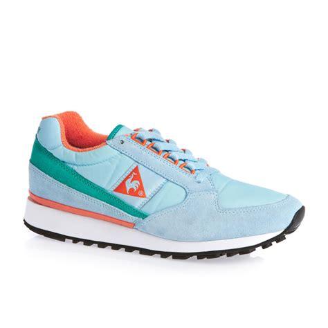le coq sportif shoes for le coq sportif eclat shoes aquamarine free uk delivery