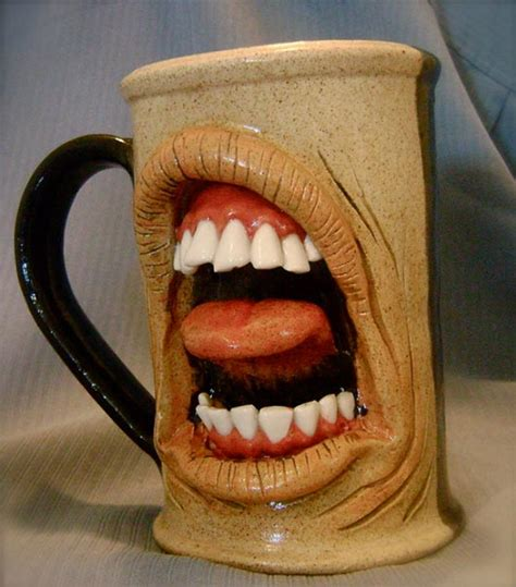 cool cups in the 20 scary and unique coffee mugs
