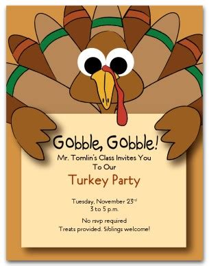 templates for thanksgiving invitations 6 best images of free printable thanksgiving invitation