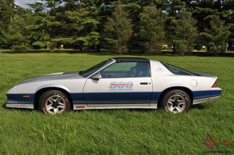 1982 camaro pace car for sale 1982 chevrolet camaro z28 indianapolis 500 pace car coupe