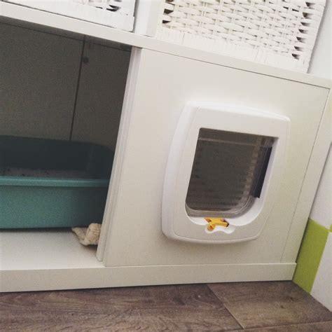 Meuble A Litiere by Fabriquer Un Meuble 224 Liti 232 Re Avec Un Casier Ikea Et Une