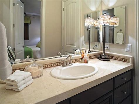 ideas for bathroom countertops bathroom vanity countertops ideas the attractive