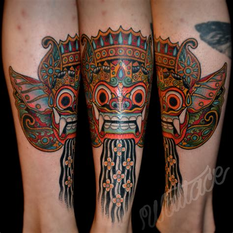 uv tattoo bali barong bali tattoo pictures to pin on pinterest tattooskid