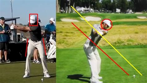 half golf swing dustin johnson golf swing analysis consistentgolf com